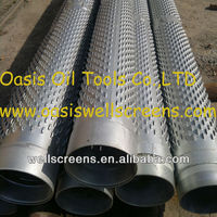 Bridge slotted stainless steel 304 pipe for deep wells