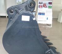 cast steel Doosan/Hyundai excavator rock bucket