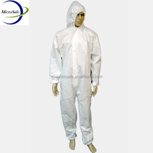 Microporous Disposable Hooded Overalls