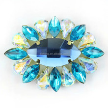 Free sample and High quality shoe jewelry accessoriess, decoration rhinestone buckle