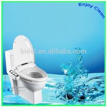 Bidet for plastic toilet seat cover, muslim shower set