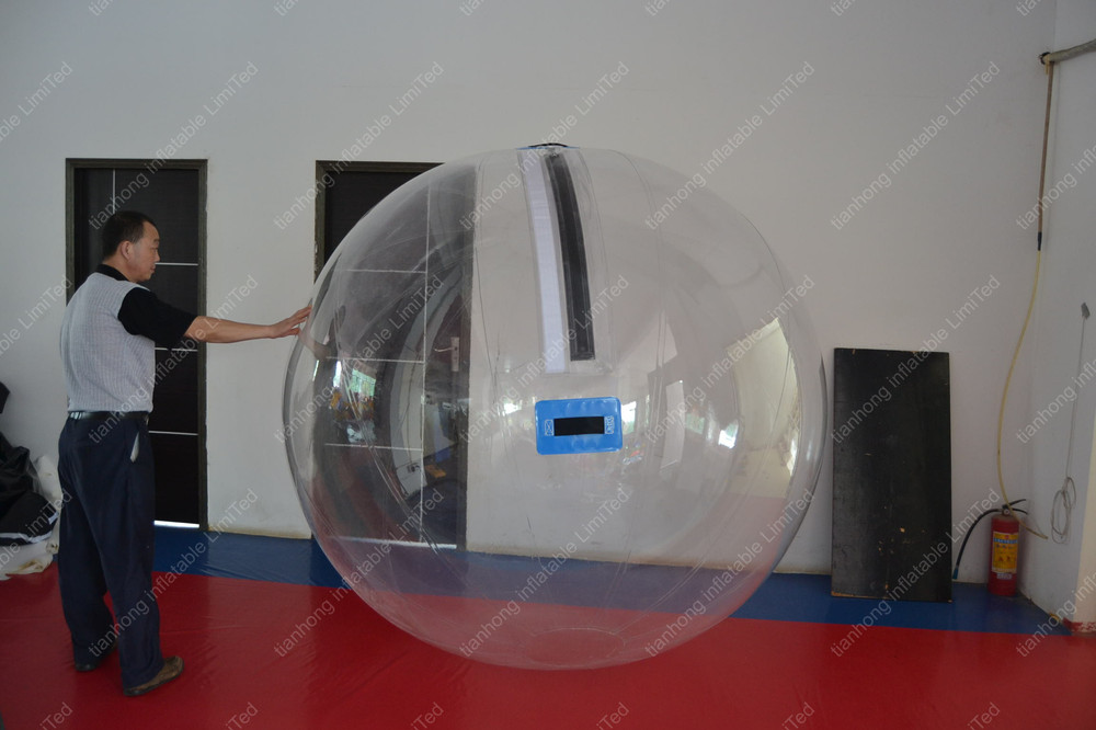 inflatable transparent water park ball for adults and kids