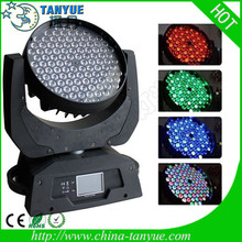 Guangzhou rgbw 108 3w led fine art lighting moving head