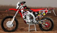 Deluxe version 450cc 4 stroke cheap dirt bike motorcycle