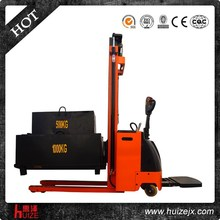 AC motor power souce and new condition hydraulic stacker