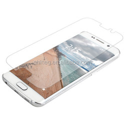 0.2mm High Tempered Glass/Anti Shock Screen Protectors for Samsung S6 edge Manufacturer