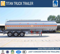 Mobile Fuel Trailers, Trailer Mounted Fuel Tanks, 50000 Liters Fuel Tank Semi Trailer