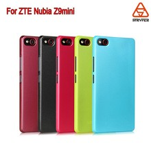 For ZTE Nubia Z9mini Primer shimmer case 5 color blank case flip leather case China factory Alibaba express
