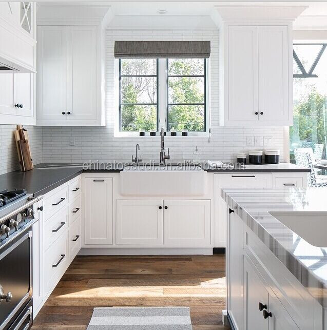 Kitchen Cabinet,High Gloss White Kitchen Cabinet,Blue Lacquer Kitchen
