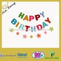 feliz aniversário banner letra para a festa