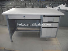 MDF Steel computer table with shelf
