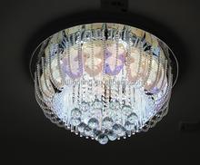 2015 Indoor glass leaf design for modern crystal ceiling lamp