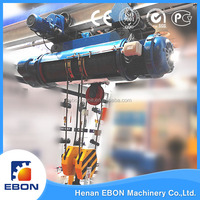 Electric Hoist A Small Lifting Equipment For Overhead Crane And Gantry Crane Wire Rope Lifting Hoist