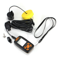 Outerdo Hot Sensor Depth New Sona Finder Ice Transducer LCD Fish Batteries Finder Electronic Alarm 100M For AP Fishing Lure