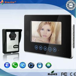 ShenZhen touch key wired video door phone intercom system