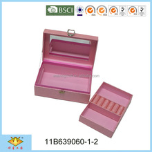Hot Sale Nice Rose Pink Box For Jewelry