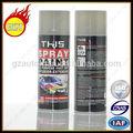 450ml colores metálicos para auto coche pintura en aerosol