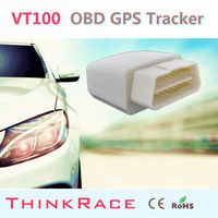 Fast Position Accurate GPS OBD Locator VT100 With Car Accident Alert OBD/OBD2 by Thinkrace
