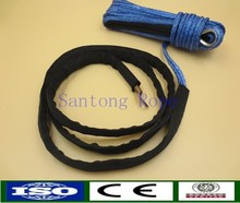 UHMWPE fiber winch ropes with protection sleeve