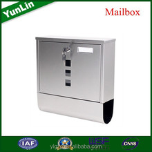 Australia 304 rustproof stainless steel letterbox with rattan round outdoor furniture