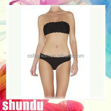 2015 New Arrival broadcloth women one piece swimsuit bathing