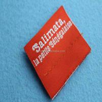 custom luxury printing label for clothing