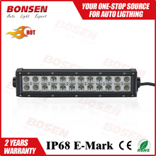 2015 Latest price 72W double row straight car led light from China factory for offroad 4