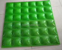 Durable decorative polymer Composite 3d PVC Wall Panels Designs