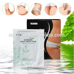 Herbal ingredient No Volanic Ash Cool Feeling herbal slimming wrap Superior Body Applicator herbal slimming patch