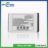 good quality 950mah for lg GT350 GW520 long standby time long life battery mobile phone