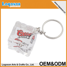 Popular promotional photo frame acrylic keychain