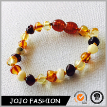 100% Natural Stone Baltic Amber Teething Necklace/