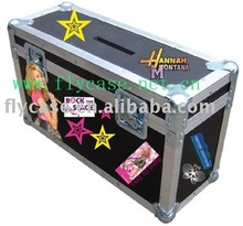 2012 new design Germanstyle Aluminum instrument case with logo print and sponge inside