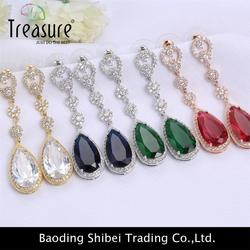 Brand new crystal earring with low price