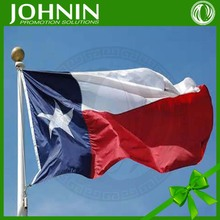 Printed Custom Promotion Cheap Top Quality 3x5 Texas Flag