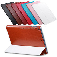 Leather Luxury Retro Crazy Horse Case for ipad 5 9.7 Tablets Accessories