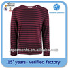 tight fit men's long sleeve t shirt hot sale