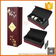 handmade luxury paper wine box for sale
