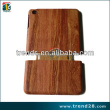 wholesale natural wood wooden hard case for ipad mini