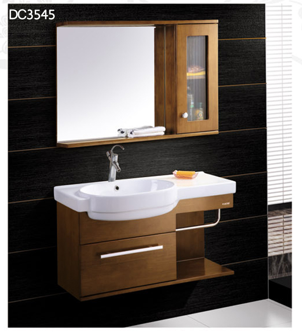 2015 solid wood bathroom cabinet modern bathroom cabinets dc3545 buy