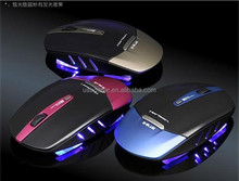 Dazzling charm wireless slim computer mouse; 2400DPI high resolution air mouse for both desktop and laptop use.