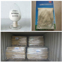 Flocculant Polyacrylamide cationic or anionic PAM Gold mine or mining explore