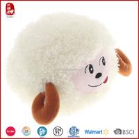 2016 China new round lamb stuffed animals plush kids toys