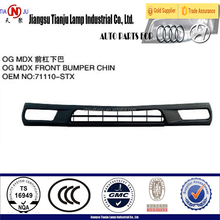 Front bumper chin for Acura mdx 07'