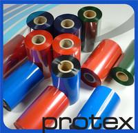 Protex thermo transfer ribbon for supermarket shelf label