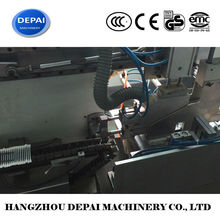 Automatic machine liquid filled cotton swab