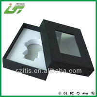 High quality cardboard clear cosmetic box and case wholesale in Shenzhen