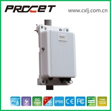 55V Gigabit DC Input IP66 Surge Protection Metal Shell Outdoor IP Camera PoE Injector