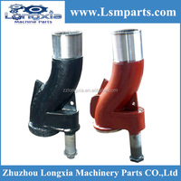 Zoomlion concrete pump part s tube, s pipe, s valve