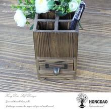 HONGDAO Professional custom wooden pen holder, wooden pen box
